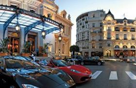Вход в казино Монако