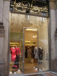 Магазин в Милане