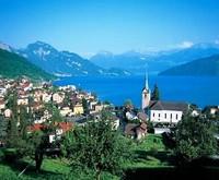 Виды Швейцарии летом
