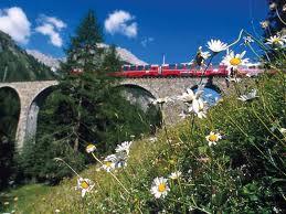 Железная дорога Швейцарии