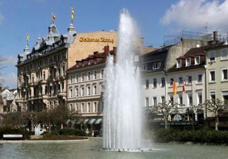 фонтан в Баден-Бадене