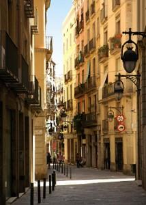 Улица Барселоны