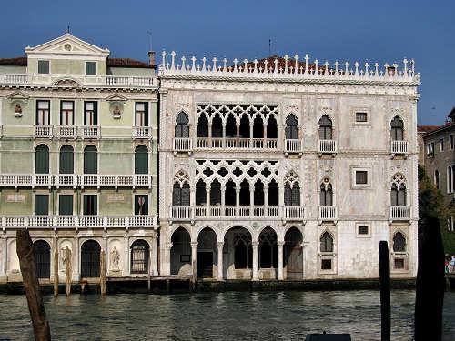 дворец Ка д'Оро в Венеции