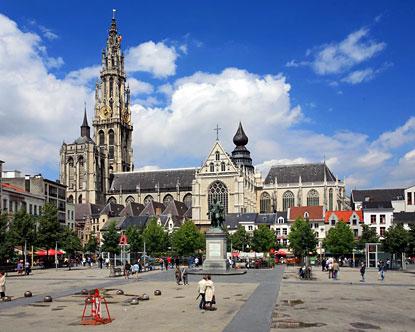 Собор в Антверпене, Бельгия