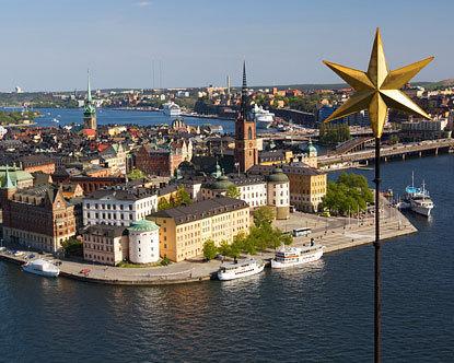 центр Стокгольма, Швеция