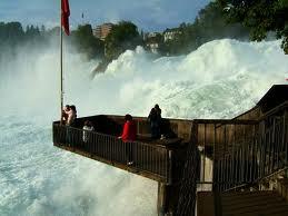смотровая площадка Рейнского водопада