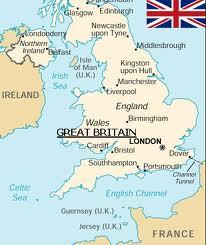 карта, где находится Лондон