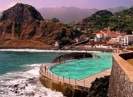 вид на горы острова Мадейра