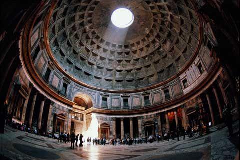 Римский пантеон внутри
