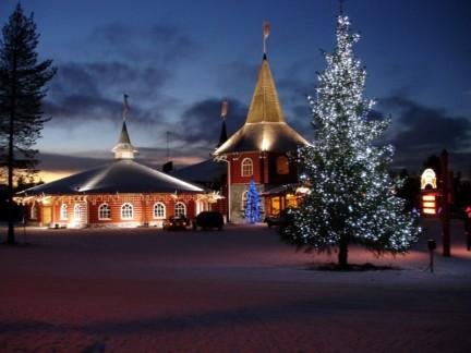 резиденция Санта-Клауса в Финляндии