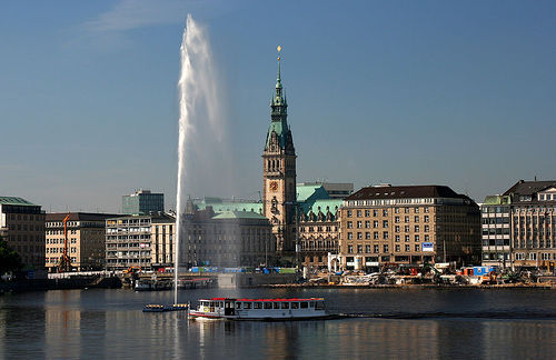 город Гамбург, Германия