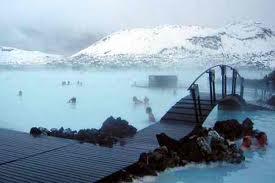 горячие источники в Исландии