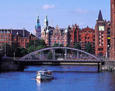Как возник город Гамбург