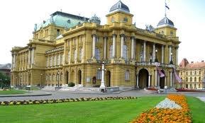 Столица Хорватии. Национальный театр
