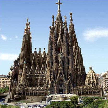 Собор Гауди в Барселоне