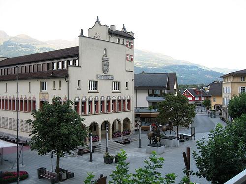 Столица Лихтенштейна Вадуц
