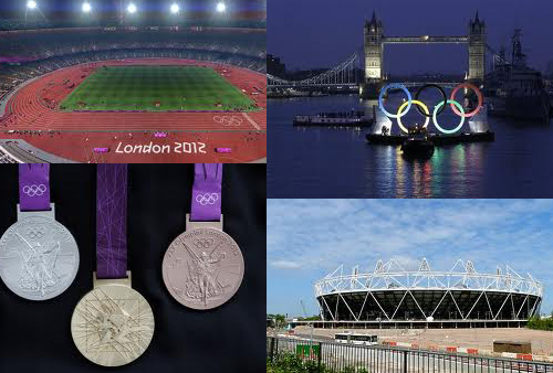 начало олимпиады в Лондоне 2012