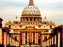 Маленькие государства Европы Ватикан