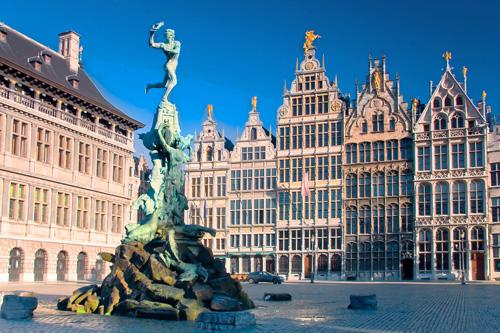 В какой стране город Антверпен?