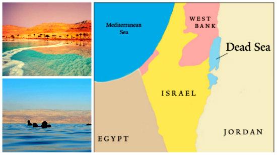 Где находится Мертвое море-3