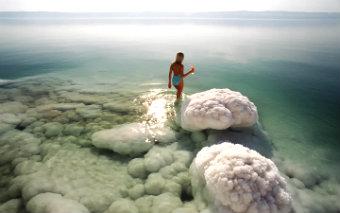 Где находится Мертвое море?