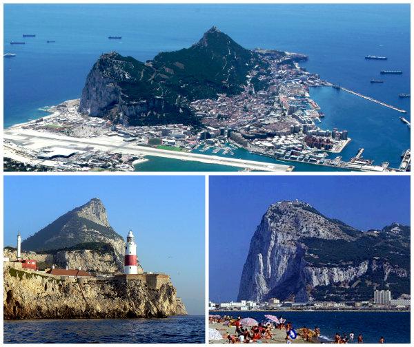 Где Гибралтарский пролив на карте